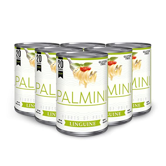 Palmini Pasta baja en calorías | 4g de Carbs | As Seen On Shark Tank |