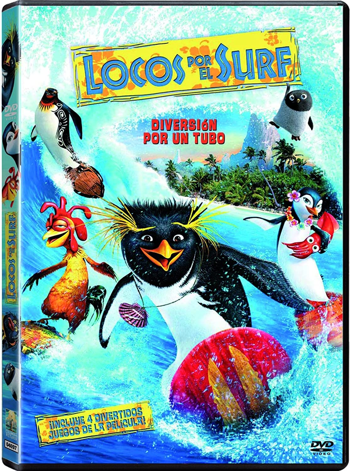 Amazon.com: Locos Por El Surf (Import Movie) (European Format - Zone 2) (2007) Varios; Ash Brannon; Chris Buck: Movies & TV