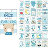 Baby Milestone Cards UK Boy Baby Shower Gifts Boy, New Baby Boy Gifts