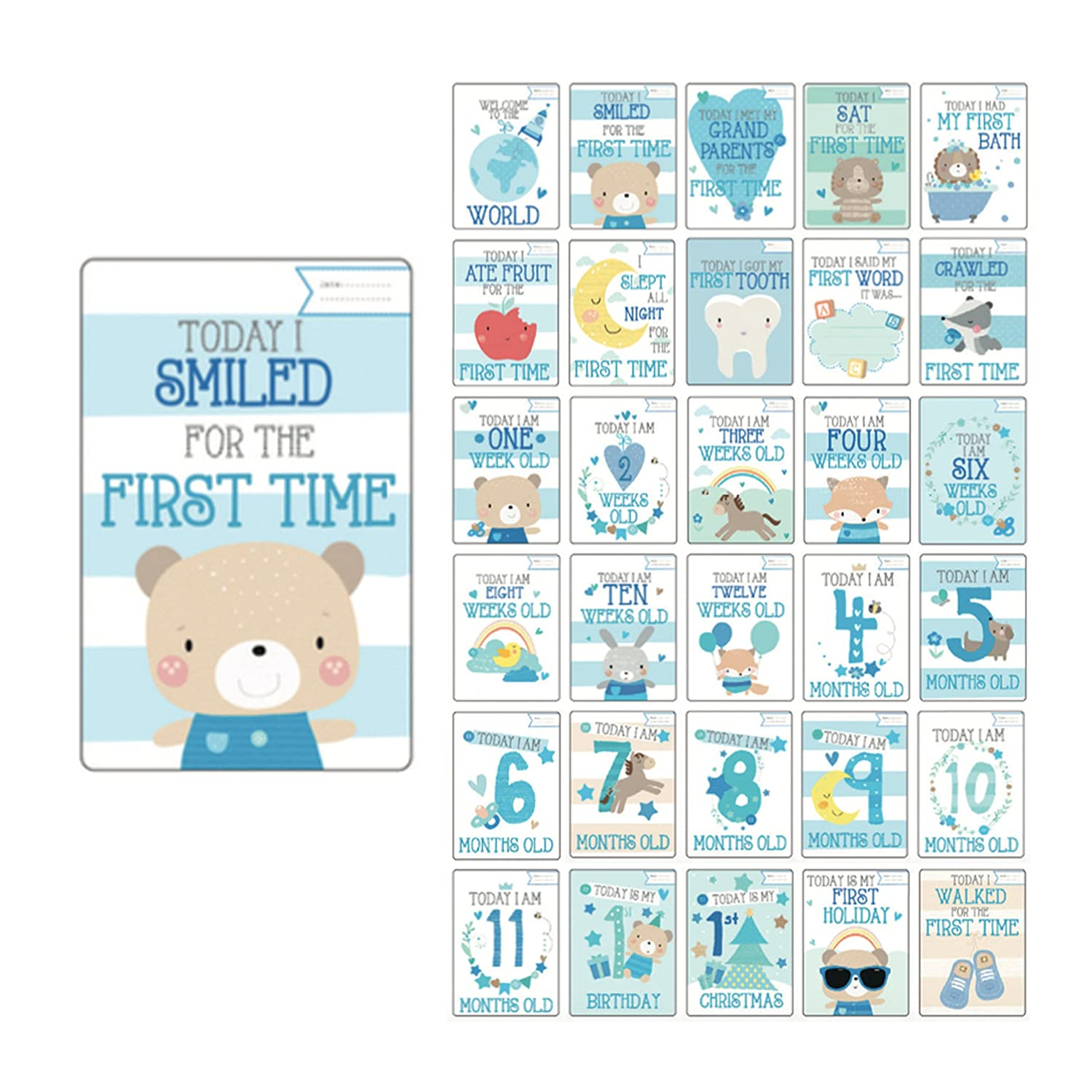Baby milestone cards uk boy baby shower gifts boy new baby boy baby milestone cards uk boy baby shower gifts boy new baby boy gifts amazon baby negle Image collections