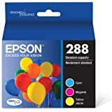 EPSON T288 DURABrite Ultra Ink Standard Capacity Color Combo Pack (T288520-S) for select Epson Expression Printers