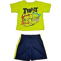 Nickelodeon Ninja Turtle 2 Piece Boy's Shorts Set (24M Green)