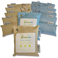 Bamboo Charcoal Air Purifying Bag - Activated Charcoal Bags for the home, Air Purifier Bag Absorb Odours, Eliminates…