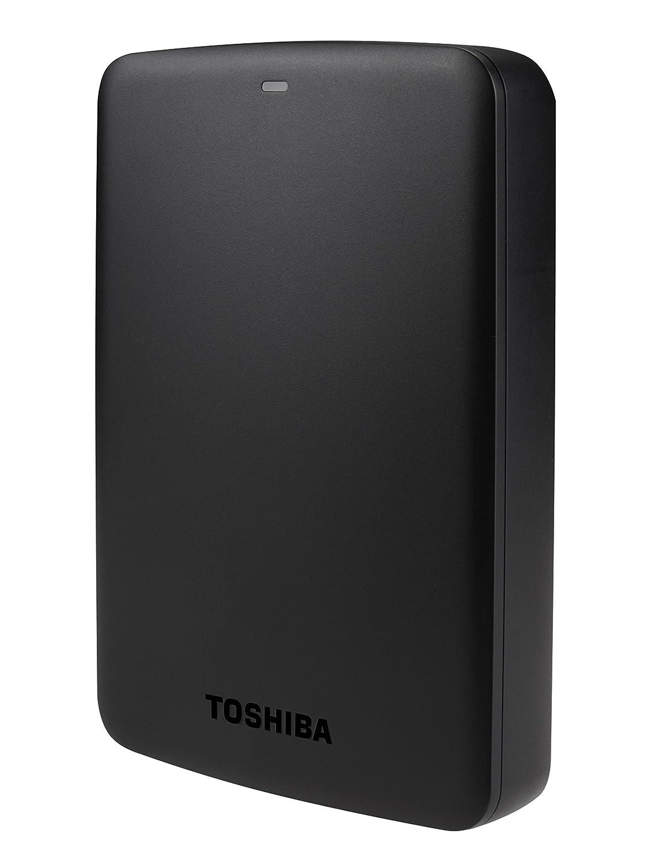TALLA 3 tb. Toshiba Canvio Basics, Negro, 3 TB