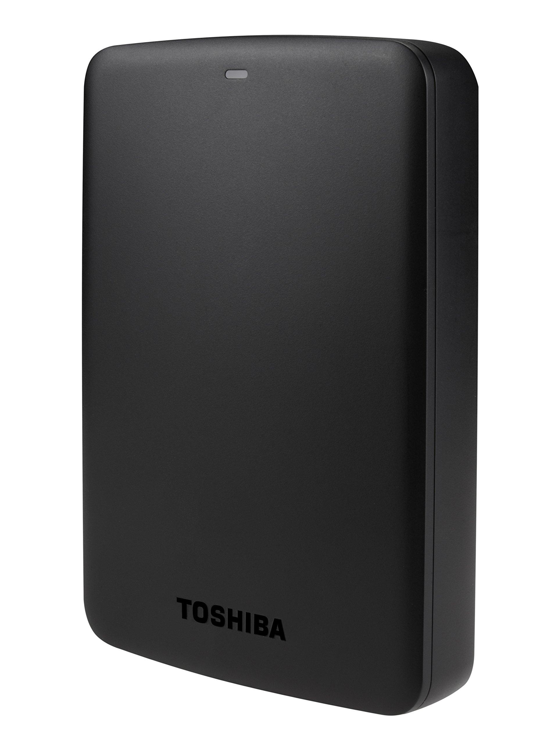 Toshiba HDTB330XK3CB Canvio Basics 3TB Portable External Hard Drive USB 3.0, Black