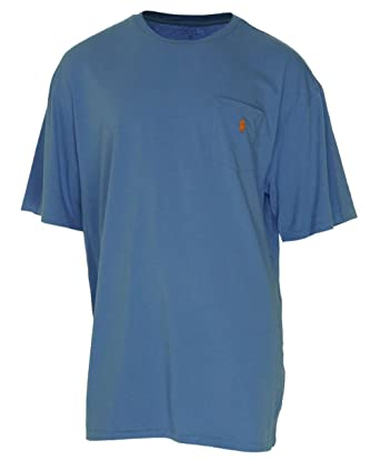 4351a5572 Polo Ralph Lauren Men's Big And Tall Crewneck Short Sleeve Pocket T-Shirt-BR