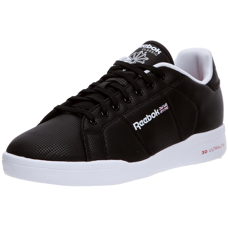 78860fba75c Reebok Classic 6-V56613 NPC II Ultralite Mens Trainers Shoe Size UK 5.5  Brand New Black  Amazon.co.uk  Shoes   Bags