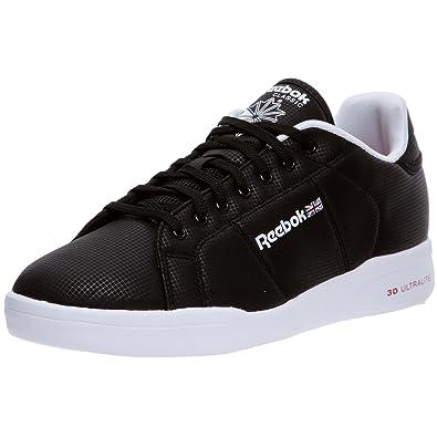 a2571a57f8b1 Reebok Classic 6-V56613 NPC II Ultralite Mens Trainers Shoe Size UK 5.5  Brand New Black  Amazon.co.uk  Shoes   Bags