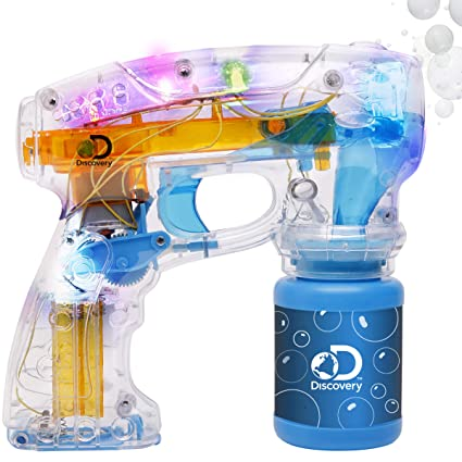 Amazon.com: Discovery soplador de burbujas luz hasta pistola ...