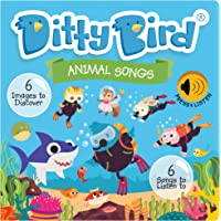 DITTY BIRD Baby Sound Book: Our Animal Songs Musical Book is The Perfect Toys for 1 Year Old boy and 1 Year Old Girl…