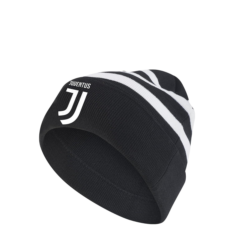 Adidas Juventus 3S Woolie Capello, Nero (Nero/Bianco), OSFY BR7010