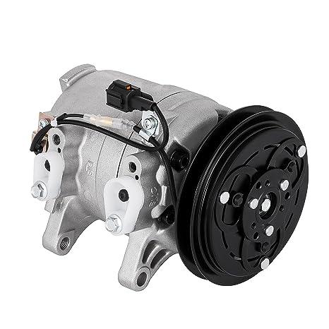 succebuy AC Compresor para Nissan Frontier Xterra Compresor AC Embrague 1998 – 2004 aire acondicionado Compresor