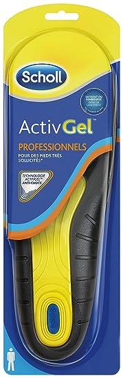3c46db941baa35 Scholl Semelles ActivGel Pro Homme Pointure 40 - 46,5: Amazon.fr: HygiÚne  et Soins du corps