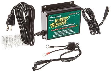 Enjoyable Amazon Com Battery Tender 022 0158 1 Waterproof 24 Volt Power Wiring Cloud Oideiuggs Outletorg