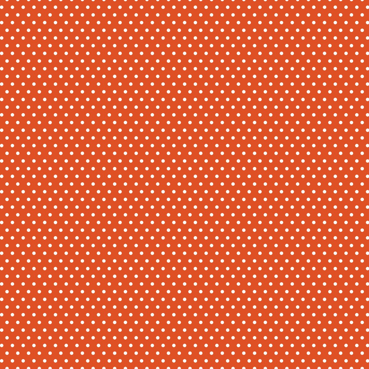 Core Basics Patterned Cardstock 12 X12 Inches Orange Small Dot (12 Pack)