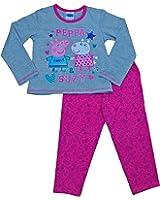 ThePyjamaFactory Girls Peppa Pig Pyjamas Peppa And Suzy Pyjamas Pink W15