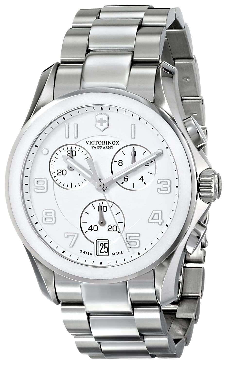 VICTORINOX CLASSIC CHRONO MEN'S STAINLESS STEEL CASE CHRONOGRAPH UHR 241538