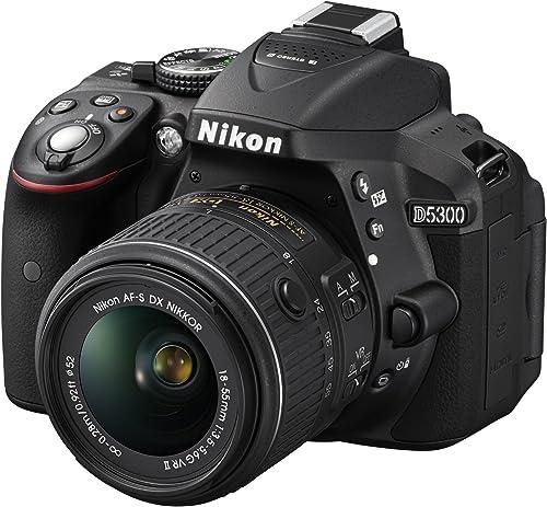Nikon D5300 Digital 24.2 MP CMOS SLR Camera review