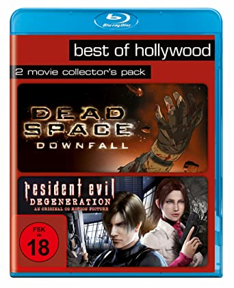 Dead Space: Downfall/Resident Evil: Degeneration - Best of Hollywood/2 Movie Collectors Pack Alemania Blu-ray: Amazon.es: Cine y Series TV