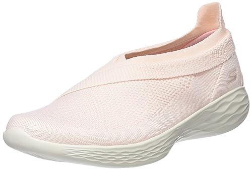 Skechers You-Luxe, Zapatillas sin Cordones para Mujer, Rosa (Pink), 39.5 EU