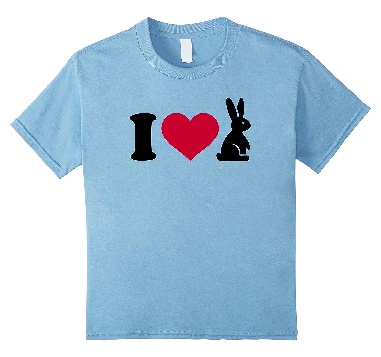 Womens love bunnies T Shirt Medium-Samdetee