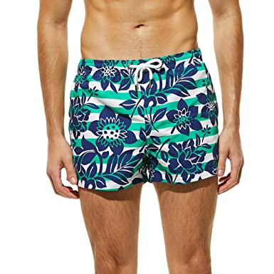 eed542ea0c Image Unavailable. Image not available for. Color: Swim Shorts Breathable Swimming  Trunks Men ...
