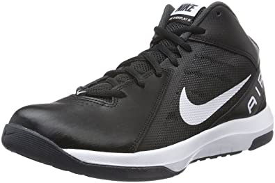 Nike The Air Overplay IX - Zapatillas Unisex, Color Negro/Blanco, Talla 9.5: Amazon.es: Zapatos y complementos