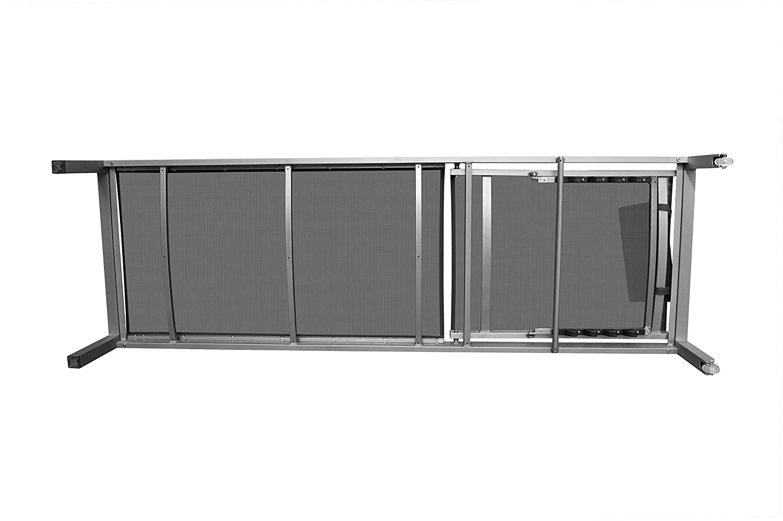 """Amazon.de: PREMIUM XXL Aluminium-Liege """"Monaco"""" ca. 160 kg ..."""