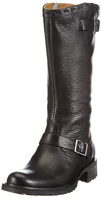 Sebago SARANAC BUCKLE HIGH - Botas De Vaquero de cuero mujer: Amazon.es: Zapatos y complementos