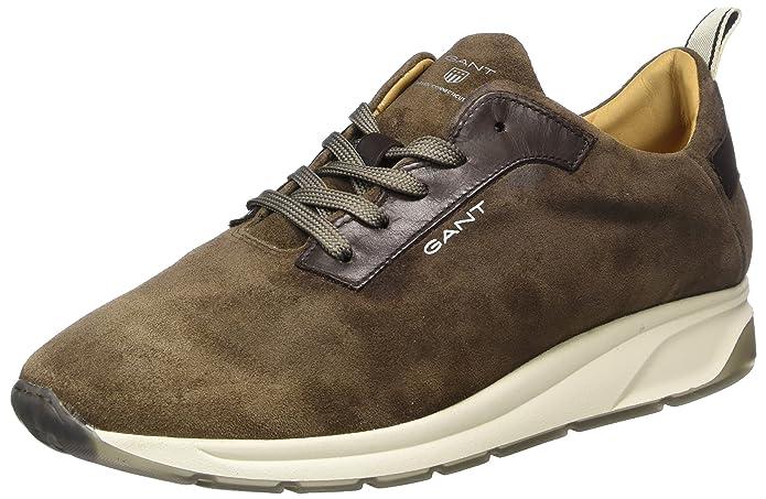 GANT Suprimo, Zapatillas para Hombre, Marrón (Taupe G24), 43 EU