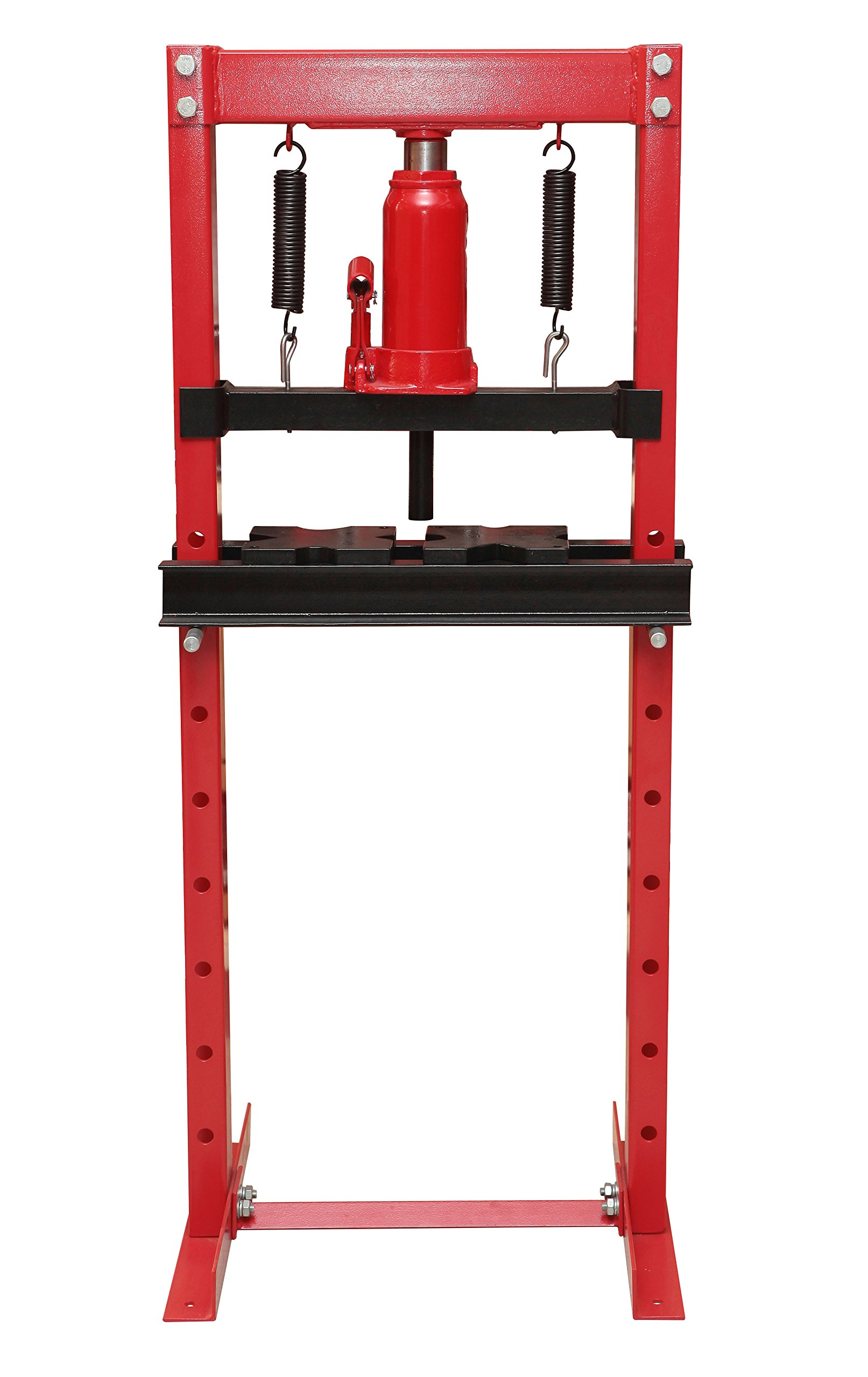 Torin Big Red T51201 Steel Frame Hydraulic Shop Press, 12 Ton Capacity