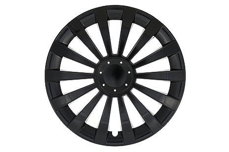 Albrecht Automotive 25235 Tapacubos Meridian Black 15 pulgadas, 1 juego