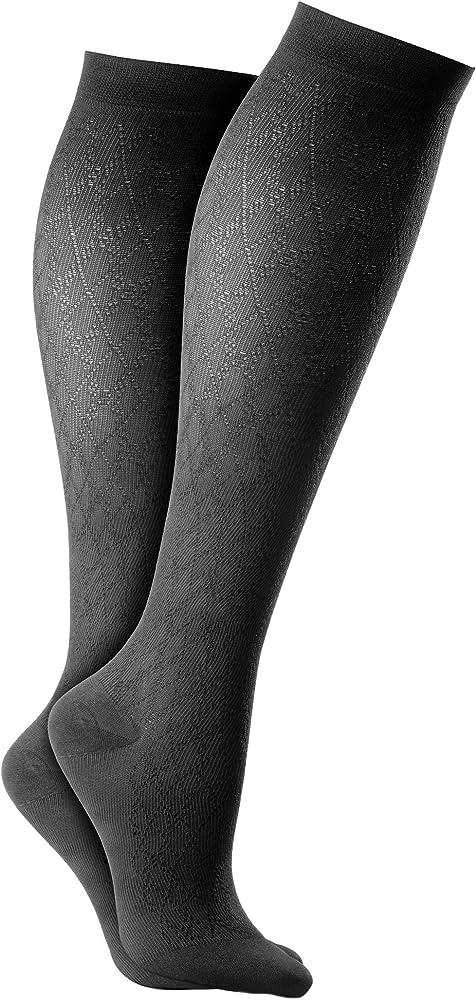 59b4fc2977 Activa Class 1 Unisex Patterned Support Socks, Medium: Amazon.co.uk ...