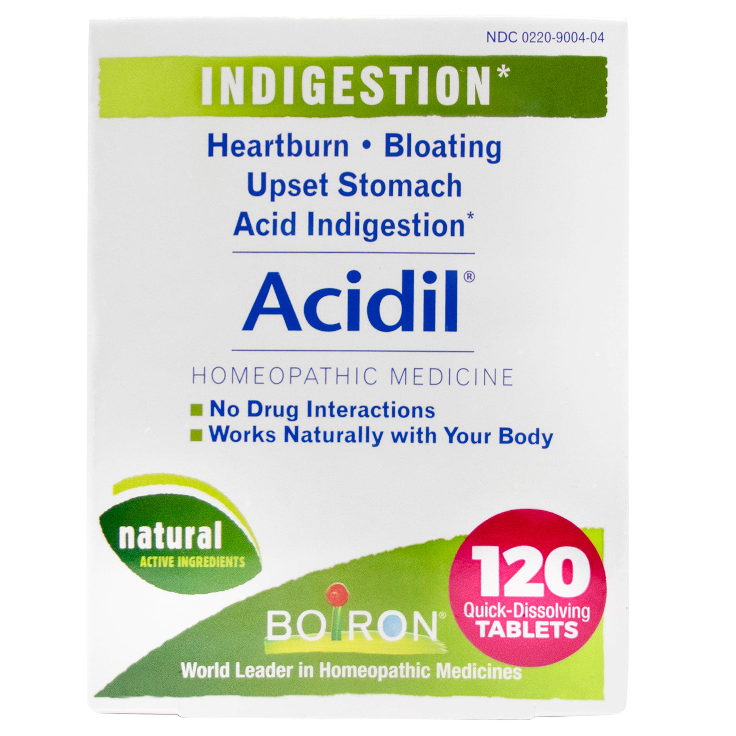 Boiron Acidil Indigestion Medicine for Heartburn and Acid Reflux by Boiron