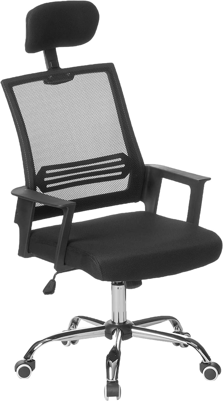 Modern Home Metro Mid - Back Office Chair, Black/Black