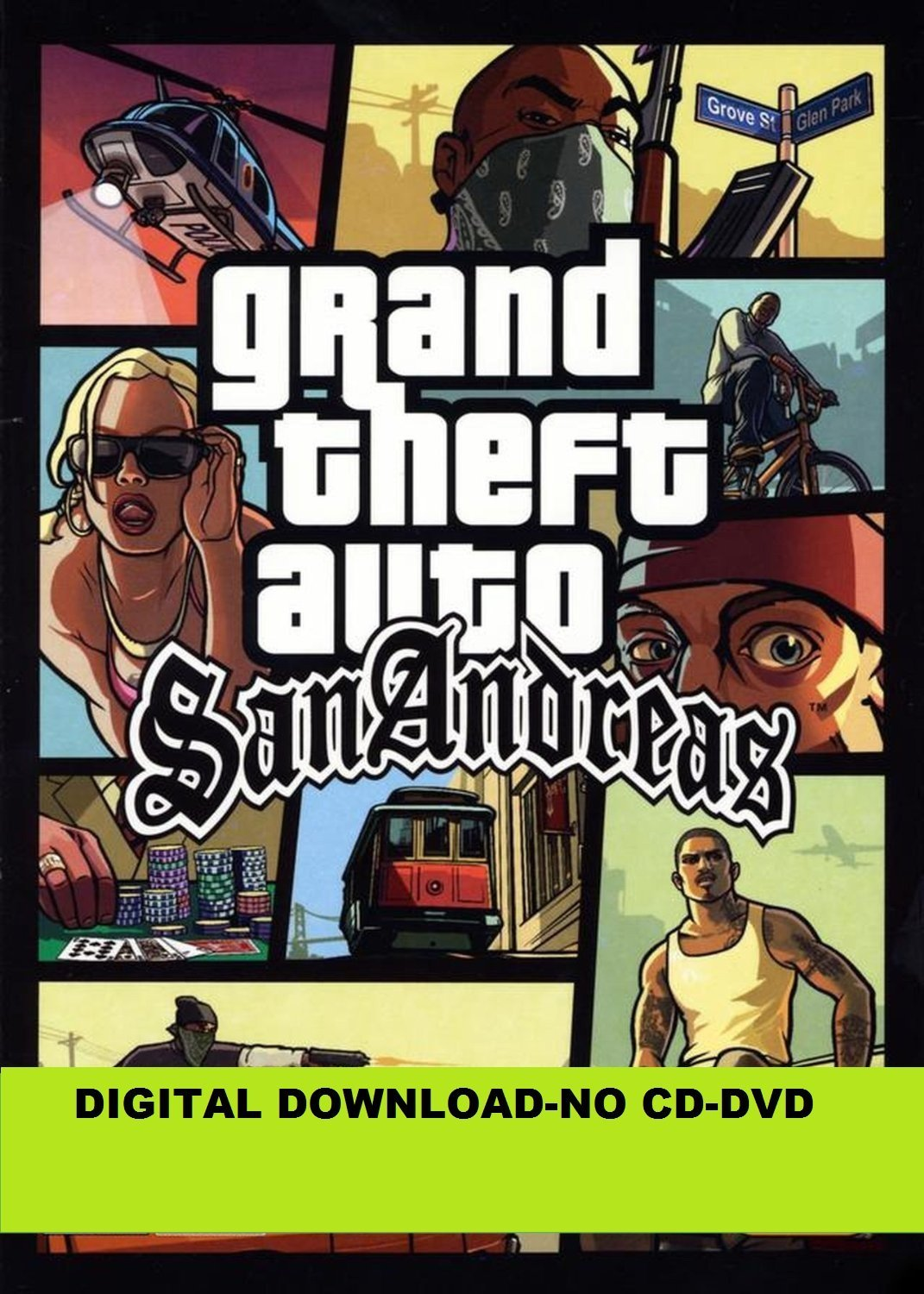 Buy Grand Theft Auto San Andreas (PC) Online at Low Prices
