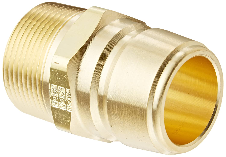 Eaton Hansen B4T26BS Brass Straight Through Ball Lock Hydraulic Fitting Plug 1//2 Port Size 1//2-14 BSPP Female 1//2 Body