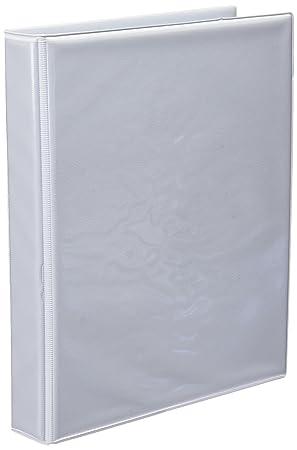 Unisystem 090310 - Carpeta personalizable, A5, 25 mm, color blanco