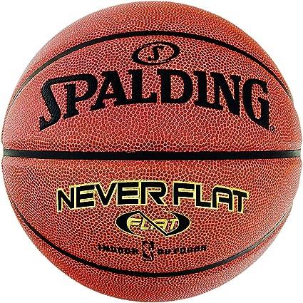 Spalding NBA Neverflat - Balón de Baloncesto, Todo el año, Color ...