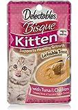 Delectables Bisque Kitten Lickable Wet Cat Treats - Tuna & Chicken (pack of 12)