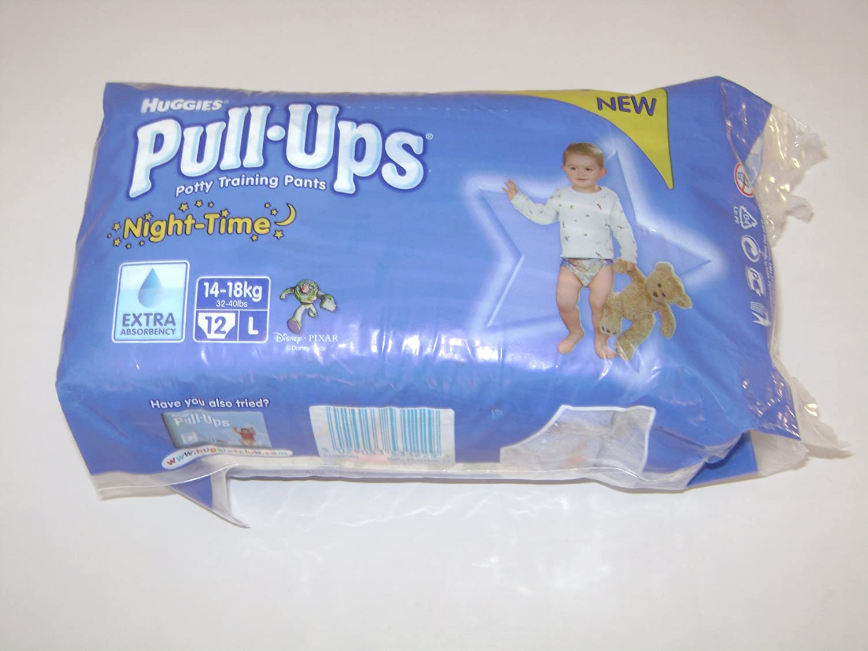 HUGGIES PULL UPS NIGHT BOY M 12