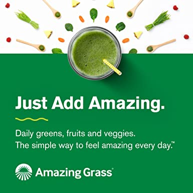 Amazing Grass Green Super Food 17 oz: Amazon.com: Grocery ...