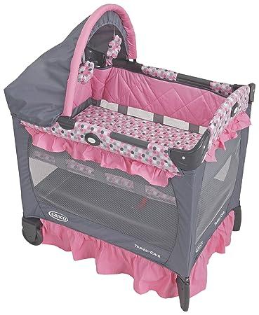 Amazon Com Graco Travel Lite Crib With Bassinet Ally