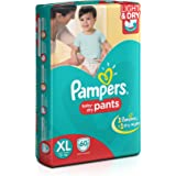 Pampers Extra Large Size Diaper Pants (60 Count)