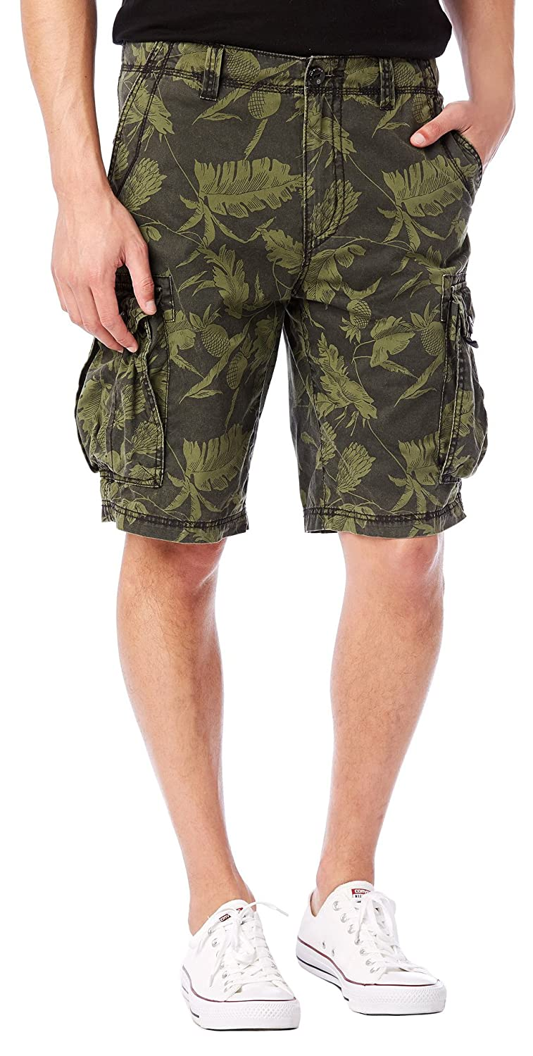 Union Bay Men's Havava Printed Cargo Shorts