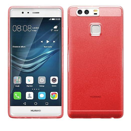 7 opinioni per TBOC® Custodia Gel TPU Rossa per Huawei P9 Plus- P9 Plus Dual SIM in Silicone