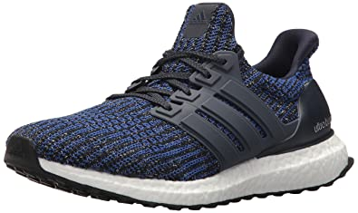 adidas Men's Ultraboost Road Running Shoe, Carbon/Legend Ink/Core Black, 10