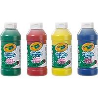 CRAYOLA 3927 - Botellas de Pintura Lavable (4