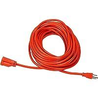 AmazonBasics 50 Feet 16/3 Vinyl Outdoor Extension Cord (Orange)