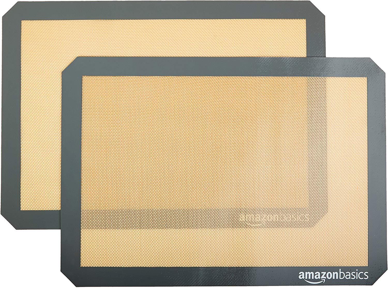 AmazonBasics - Lámina de horno (2 unidades): Amazon.es: Hogar